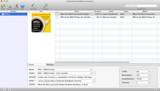 Guide of Audible AudioBook Converter for Mac